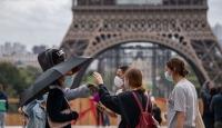 Fransa'da son 24 saatte 9 bin 784 yeni vaka