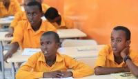 Katar'dan Somali'deki 57 bin 600 çocuğa eğitim imkanı