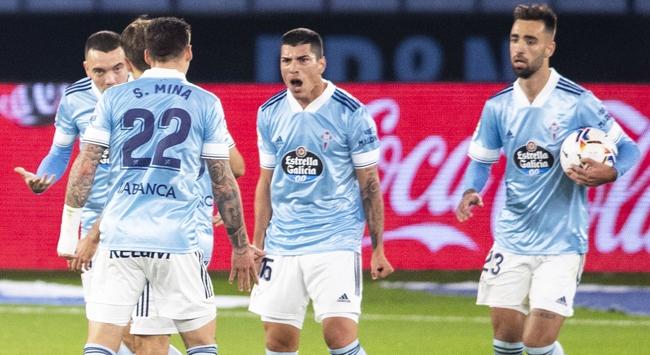 Celta Vigo kazandı, Okay kırmızı kart gördü