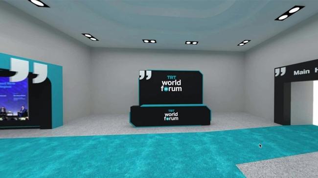 TRT World Forum 2020 yüksek teknoloji ile dünyayı bir araya getirecek