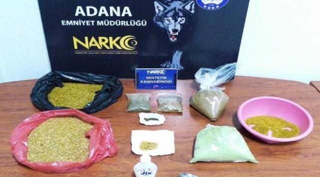 Adanadaki uyuşturucu operasyonlarında 27 kişi tutuklandı