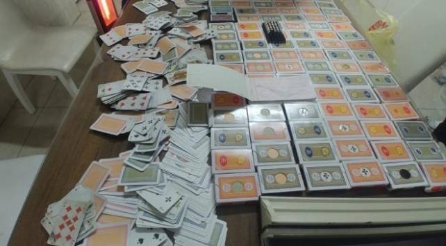 Muğlada kumar oynayan 17 kişiye 79 bin 325 lira ceza