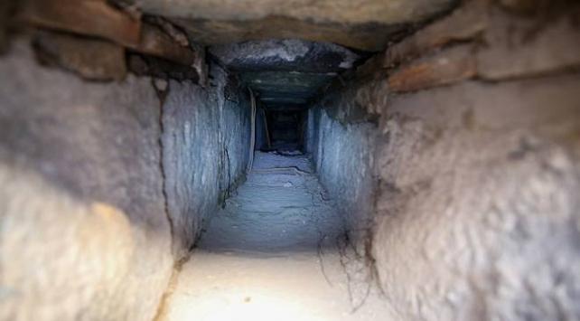 Diyarbakırda 1800 yıllık atık su kanalı bulundu