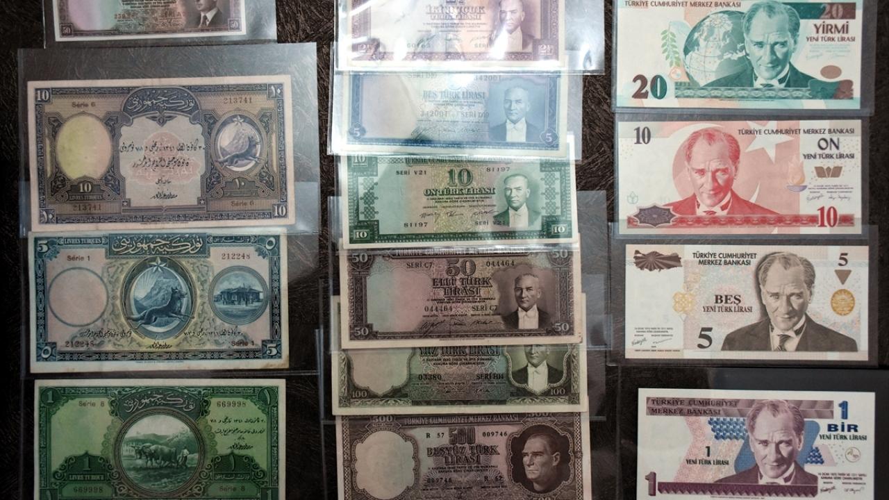 Terzi babasının para koleksiyonu oğlunun en değerli hazinesi oldu