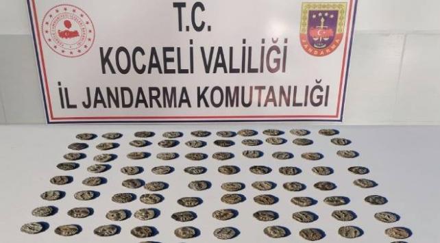 Kocaelide tarihi eser operasyonu: 7 gözaltı