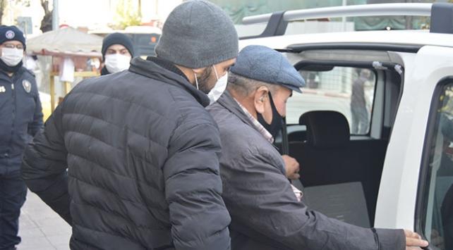 Karantina ihlali yapan baba ile oğlu KYK yurduna yerleştirildi