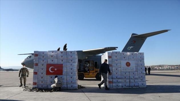 Türkiyeden Filistine tıbbi malzeme yardımı