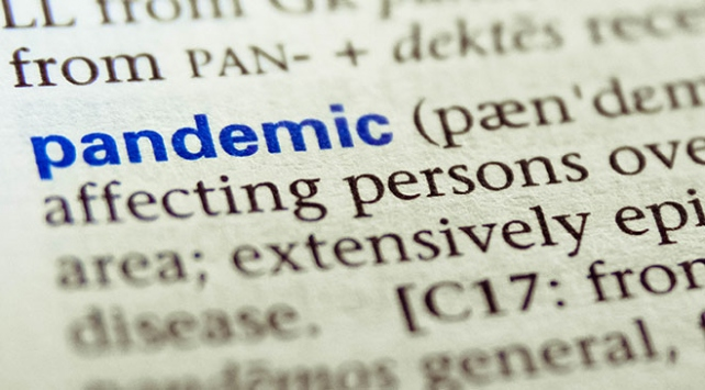 Merriam-Webster sözlüğü 2020nin kelimesini seçti: Pandemi