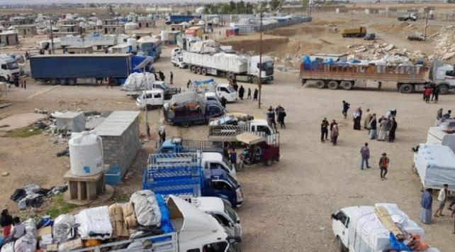Kerkük'te iç göçmenlere ait tüm kamplar kapatıldı