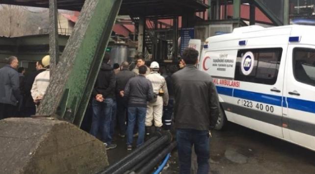 Zonguldakta 35 madenci kafeste mahsur kaldı