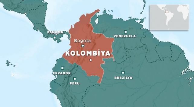 Kolombiya'da çıkan yangında 320 aile evsiz kaldı