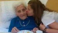 101 yaşındaki kadın üçüncü kez koronayı yendi