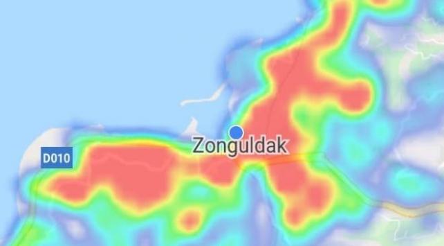 Zonguldakın koronavirüs haritası 15 günde kıpkırmızı oldu