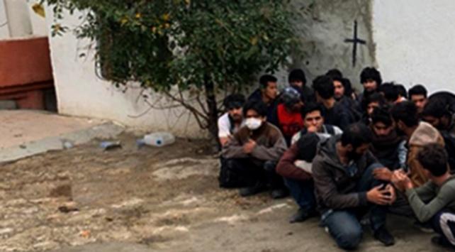 Yasa dışı yollarla yurda girmeye çalışan 21 kişi yakalandı