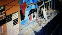 Meksika'da pizza restoranında patlama anı kamerada