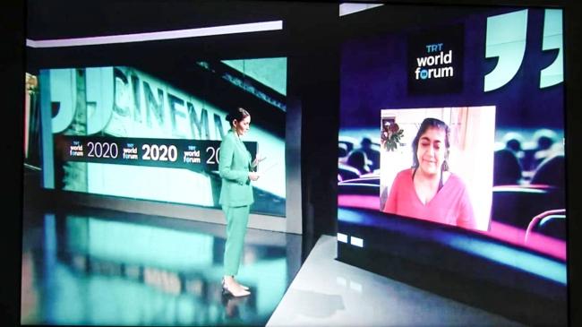 TRT World Forum 2020'de 'Film Endüstrisinin Geleceği' ele alındı