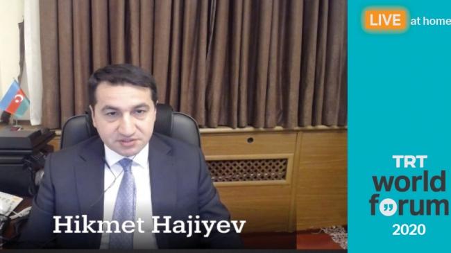 TRT World Forum 2020'de Azerbaycan-Ermenistan çatışması tartışıldı