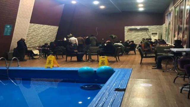Van'da otelde yapılan eğlencedeki 21 kişiye idari ceza