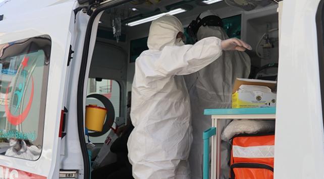 Karantinadaki hastaya ilaç götüren filyasyon ekibi saldırıya uğradı