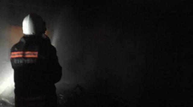 Trabzondaki fabrika yangını söndürüldü
