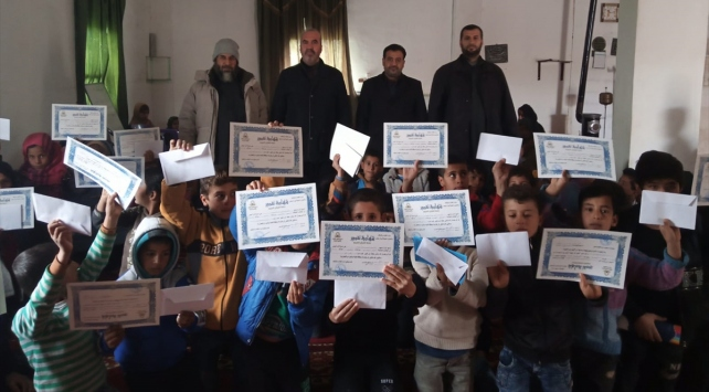 Barış Pınarı Harekatı bölgesine Türkiyeden destek