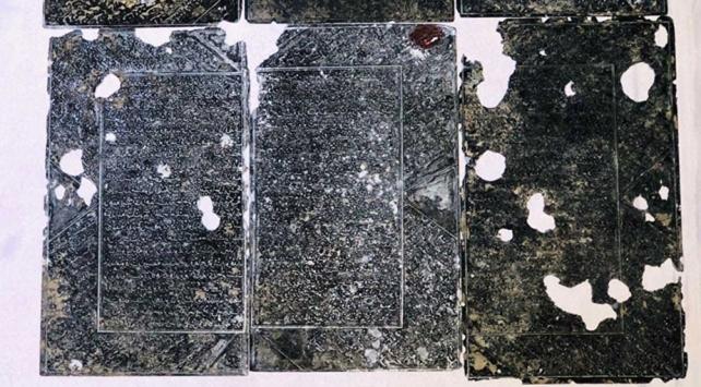 Malatyada tarihi eser niteliğinde 6 gümüş plaka ele geçirildi