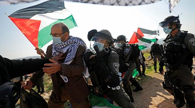 İsrail askerleri Batı Şeriada gösteriye müdahale etti: 32 yaralı