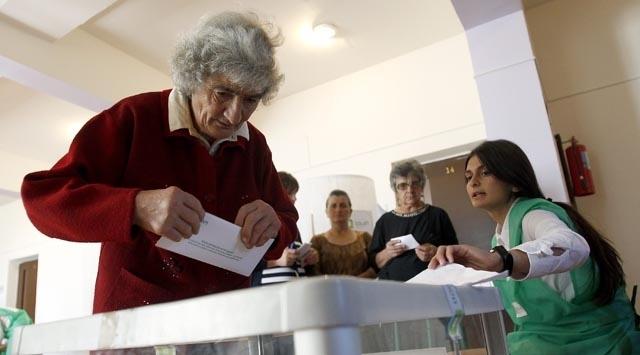 Gürcistanda seçim sonuçları belli oldu