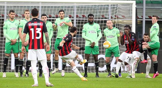 Milan geriden gelerek kazandı