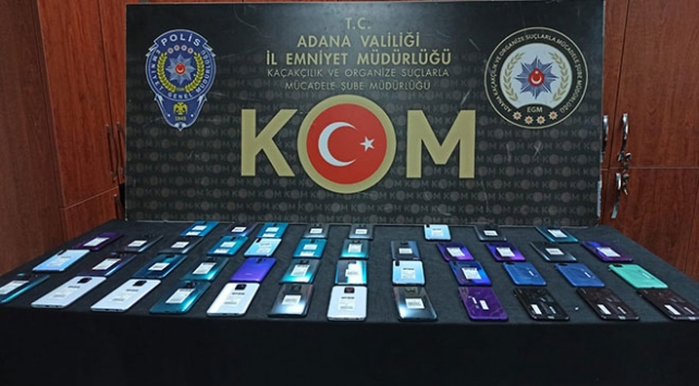 Adanada kaçakçılık operasyonunda 13 kişi gözaltına alındı