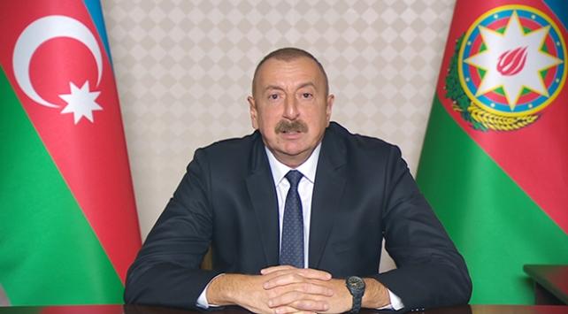 Aliyev: DSÖye toplam 10 milyon dolar yardımda bulunduk