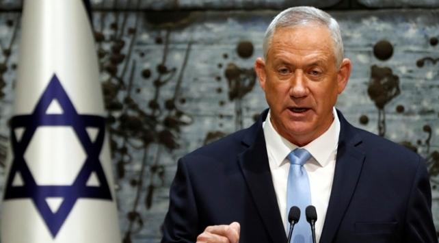 İsrail Savunma Bakanı Gantzdan Filistine müzakere çağrısı