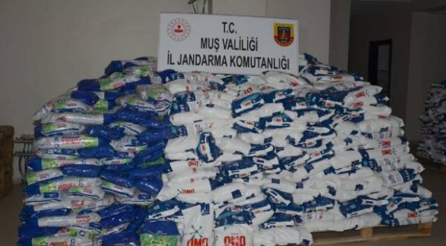 24 ton sahte deterjan ele geçirildi