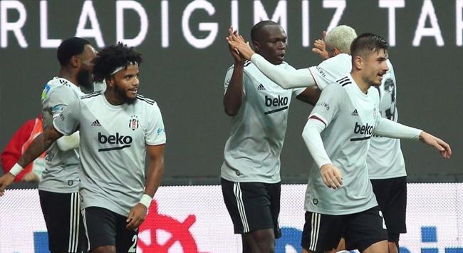 Beşiktaş galibiyet serisini 3 maça çıkardı
