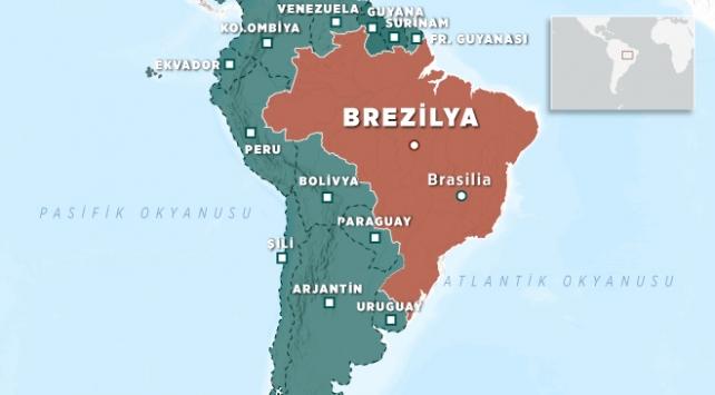 Brezilyada otobüs viyadükten düştü: 10 ölü, 20 yaralı