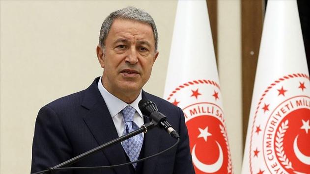 Bakan Akar: Karabağ yerli ve milli silahlarla 44 günde kurtarıldı