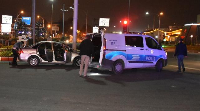 Malatyada polisten kaçmaya çalışan 3 şüpheli yakalandı