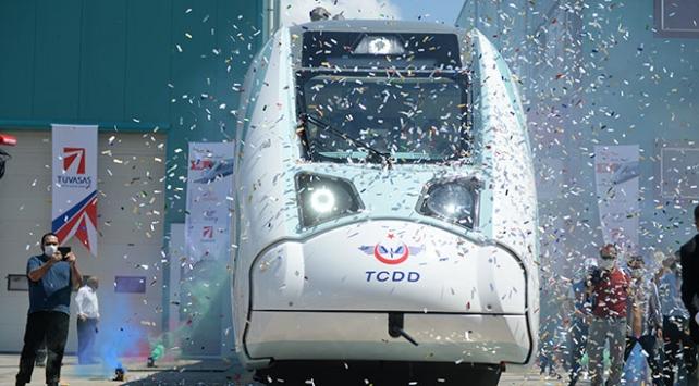 Milli Elektrikli Tren Setinin seri üretimine 2021de başlanacak