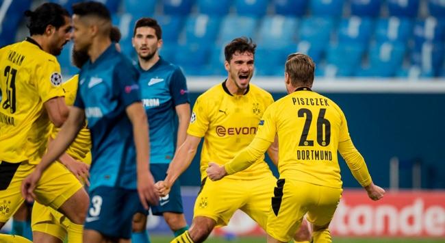 Borussia Dortmund adını son 16ya yazdırdı
