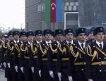 Mehmetçik ve Azerbaycan askerlerinden Mehter Marşı eşliğinde zafer yürüyüşü