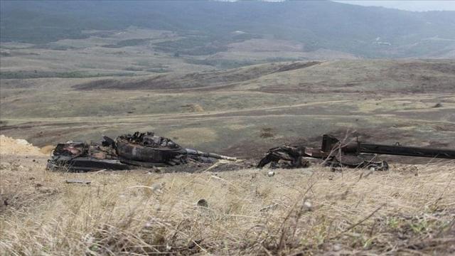 Azerbaycan'dan BM'ye yabancı savaşçı raporu: PKK'lıları Yunan uçakları taşıdı