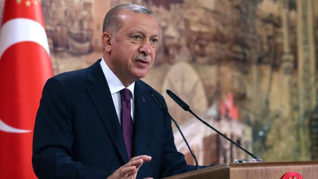 Cumhurbaşkanı Erdoğana Nijeryadan ödül