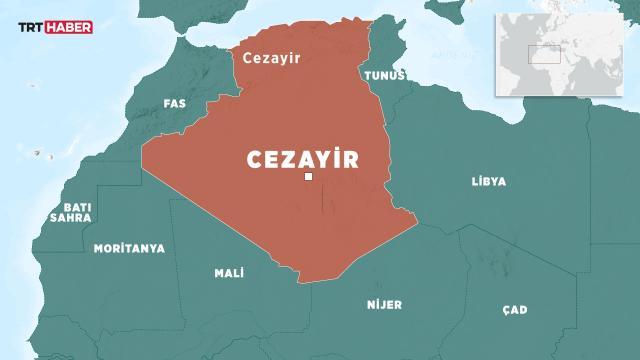 Cezayirde 5,9 büyüklüğünde deprem: 6 yaralı