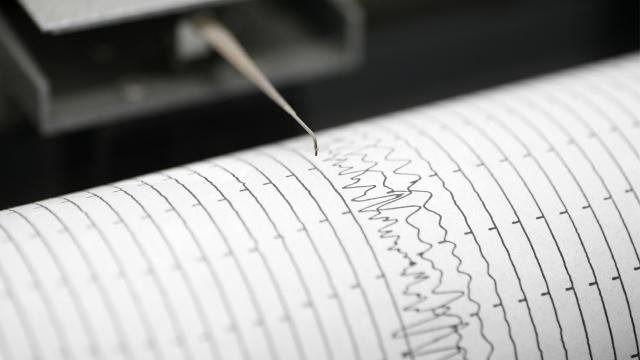 Ege Denizinde 3,8 büyüklüğünde deprem