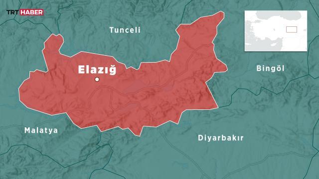 Elazığda 4,2 büyüklüğünde deprem