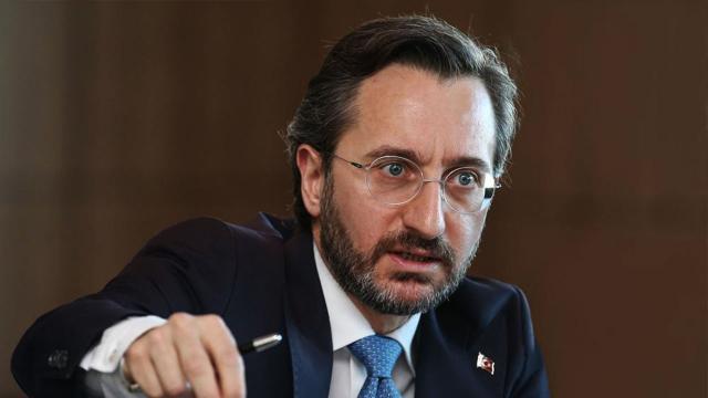 İletişim Başkanı Altundan HDPye sert tepki