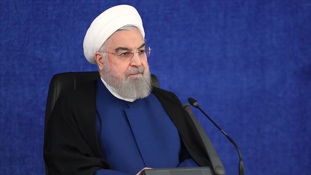 İran Cumhurbaşkanı Ruhani: Başarısız yaptırım politikasını müzeye kaldırın