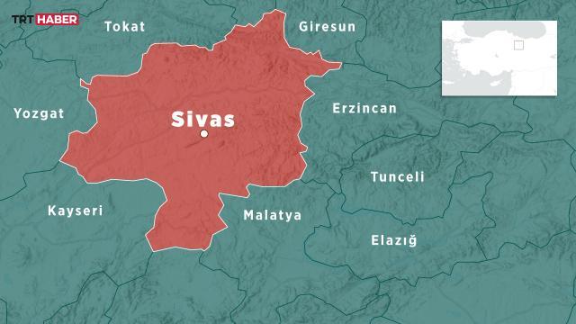 Sivasta 3,8 büyüklüğünde deprem
