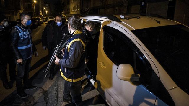 Ankarada esnafı haraca bağlayan suç örgütü çökertildi