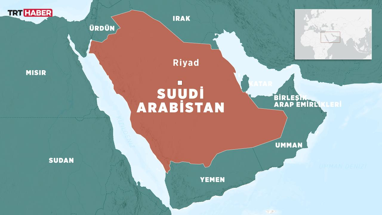 Suudi Arabistan'ın başkenti Riyad'da patlama